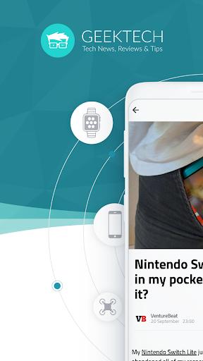 Geek Tech - High Tech News screenshots 1