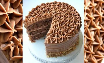 Chocolate Italian Cream Cake Recipe