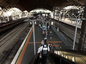 Photo: Also nehmen wir den Zug :-(