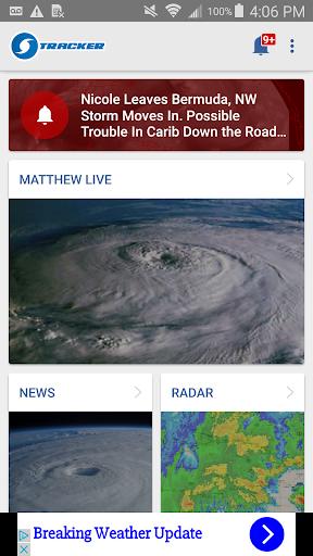 Hurricane Tracker Forecast App