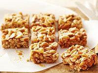 Peanutty Caramel Apple Bars Recipe