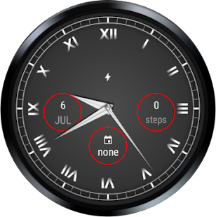 Elegant Analog Watch Face Screenshot