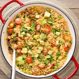 Paprika Chorizo Rice & Avocado Recipe