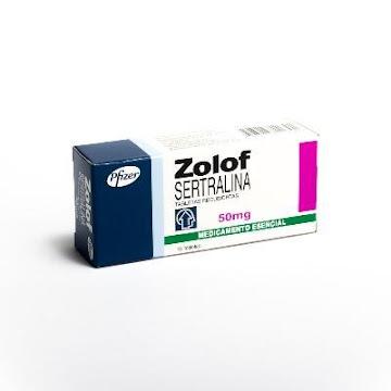 ZOLOF 50mg Tabletas Caja   x10Tab. PFIZER Sertralina
