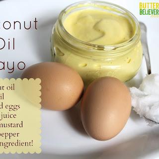 Coconut Oil Mayonnaise.