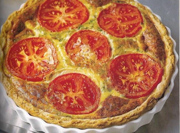 Cheese And Tomato Galette Recipe