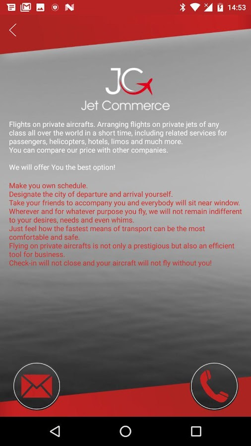 Jet Commerce- screenshot