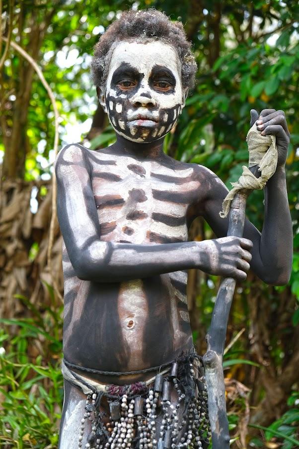 Dia 148 - Os HOMENS ESQUELETO de Chimbu e Mindima | Papua Nova Guiné