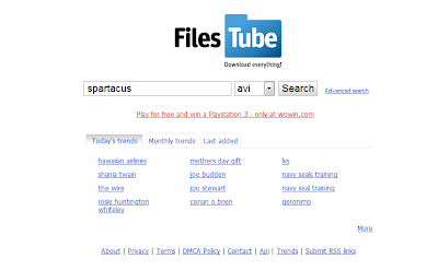 FilesTube Is A Search Engine For Files