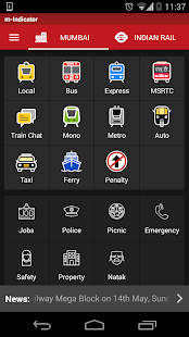 m-Indicator- Indian Rail MSRTC- screenshot thumbnail