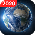 Live Earth Map - Satellite View, World Map 3D icon