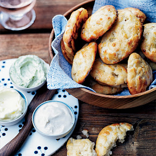 Bannock Scones with Three Butters.