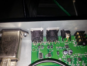 Photo: Some crustiness building on the MIDI connectors