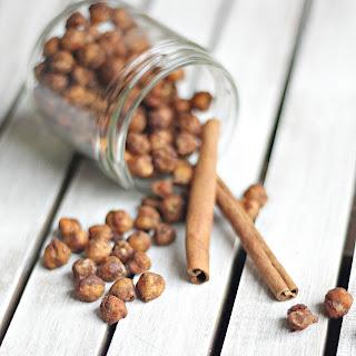 Roasted Cinnamon Sugar Chickpeas
