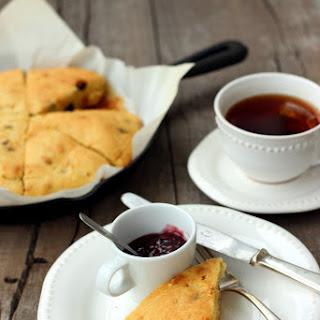 Gluten-free Raisin Scones.