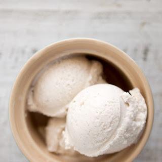 Coconut Vanilla Bean Ice Cream [Vegan].