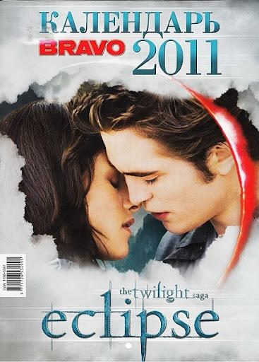 Bravo. The twilight saga eclipse. Календарь 2011 Россия