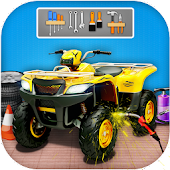 Quad Bike Repair Mechanic Workshop- Car Wash Salon