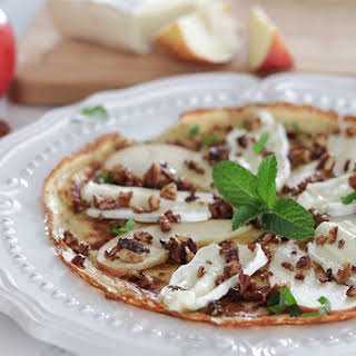 Brie & Apple Crepes.