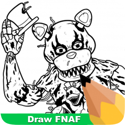 How To Draw FNAF 遊戲 App LOGO-APP開箱王
