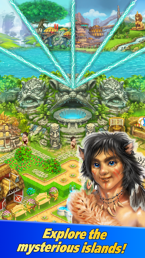 Farm Tribe 3: Cooking Island- screenshot