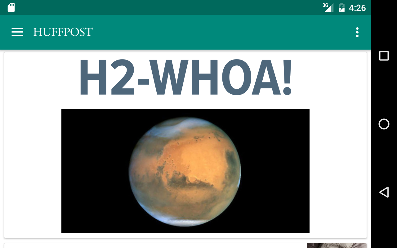 Huffington Post screenshot #4