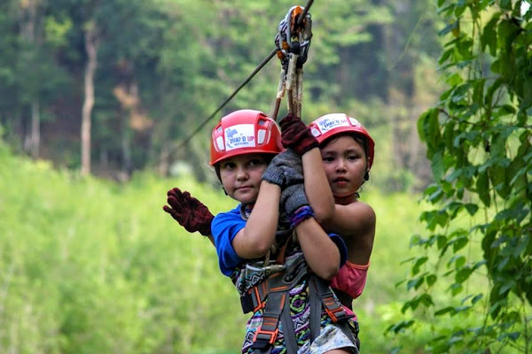 Have fun with kids in Thai'd Up Adventure Park
