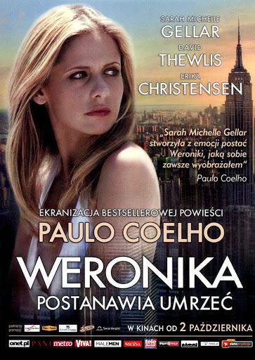 Przód ulotki filmu 'Weronika Postanawia Umrzeć'