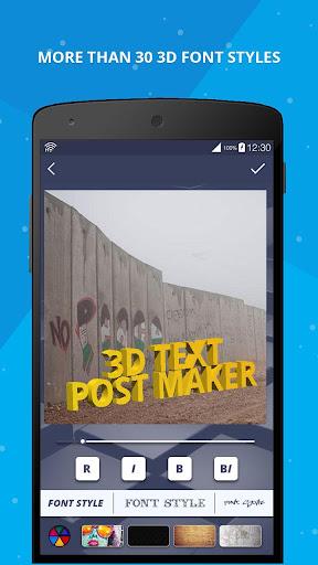 3D Name on Pics - 3D Text 8.1.1 screenshots 6