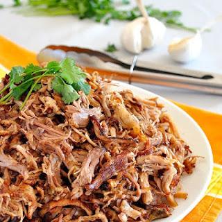 Pork Carnitis (Mexican slow cooker pulled pork)