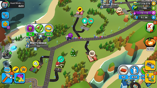 Transit King Tycoon - City Tycoon Game apktram screenshots 6