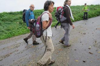 Photo: Georges, Marie-Christine, Marie-Cécile et Henri l'animateur de cette randonnée