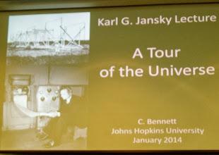 Photo: Evening Jansky Lecture