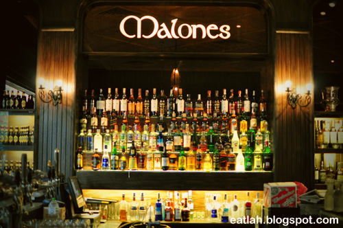 Malones Irish Restaurant & Bar | Singapore bars and clubs ...