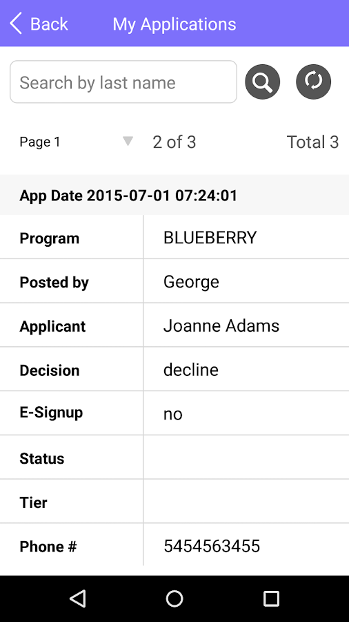 Blueberry Healthcare- screenshot