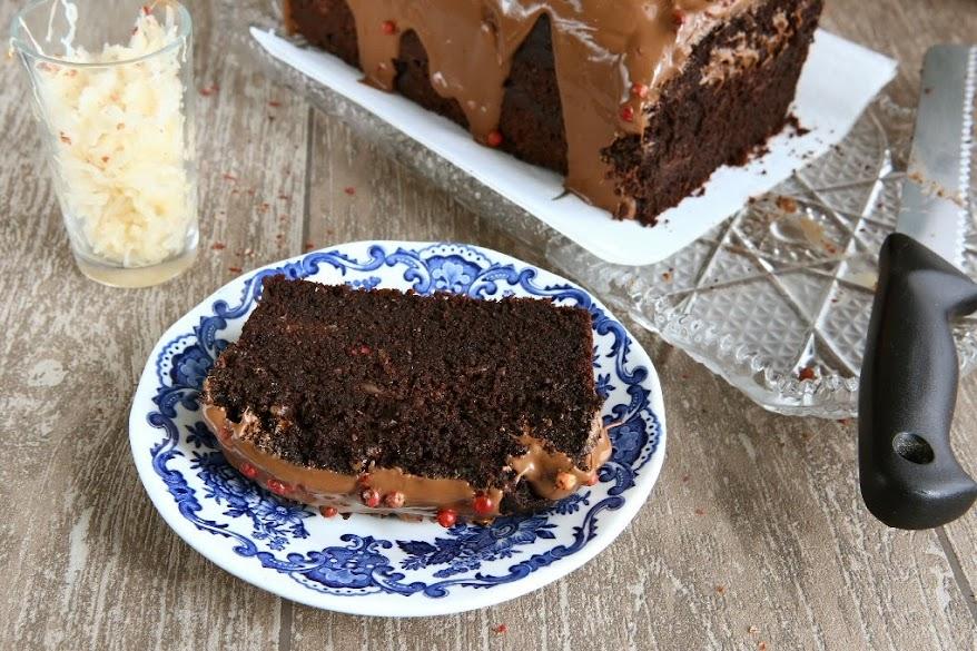Sauerkraut Einkorn Chocolate Cake