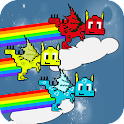 Rainbow Dragon Runner icon