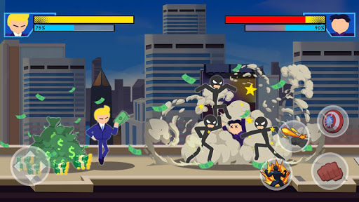 Stick Super: Hero - Strike Fight for heroes legend 1.0.9 screenshots 2