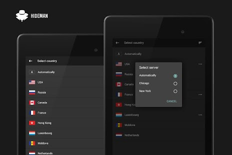 Hideman VPN Screenshot 5