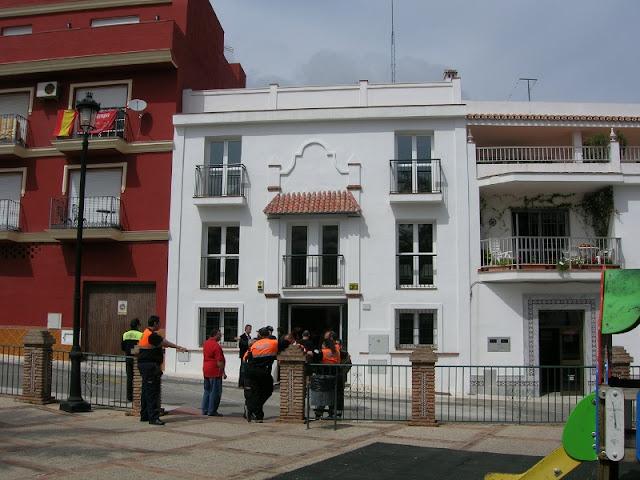 Fachada de la nueva Sede de Protección Civil Mijas.