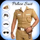 Men Police suit Photo Editor icon