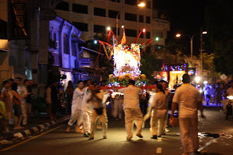 Photo: Year 2 Day 108 - Float Hurdling Along in the Procession