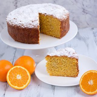 Orange & White Chocolate Cake Recipe