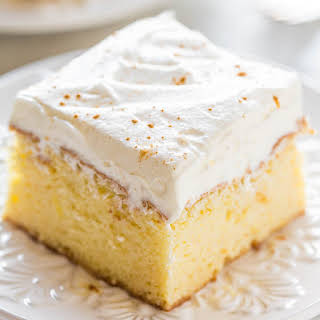 The Best Tres Leches Cake.