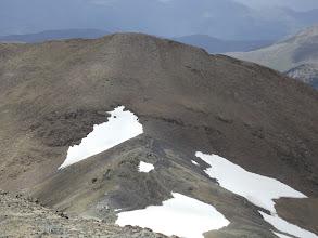 Photo: El Pic de La Font Negra vist des del Cim de la Roca Banca