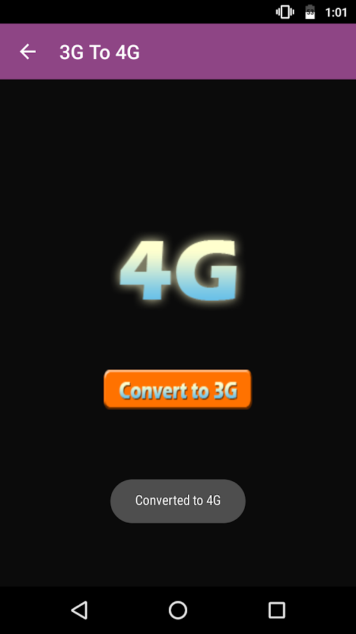 3G 4G Converter | Speed Test - Simulator- screenshot