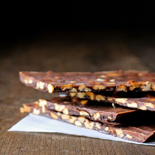 Coconut Oil + Roasted Cashew Chocolate Bars