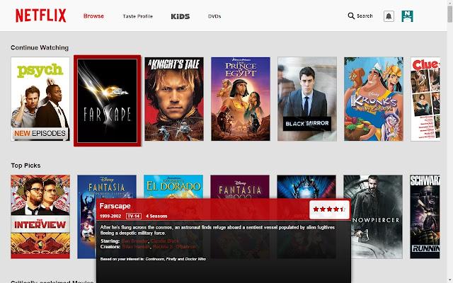 Netflix Navigator