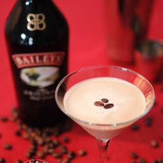 Baileys Flat White Martini Pudding.