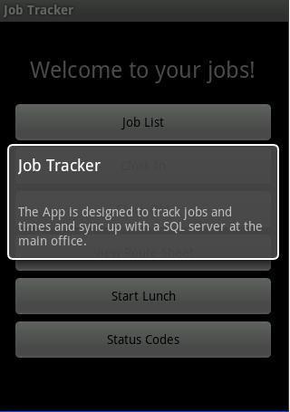 Job Tracker
